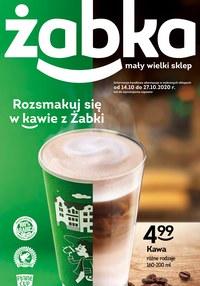 Gazetka promocyjna Żabka - Rozsmakuj się w kawie z Żabki! - ważna do 27-10-2020