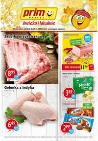 Gazetka promocyjna Prim Market - Kolejny tydzień z Prim Market! - ważna do 20-10-2020