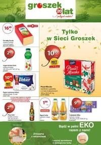 Gazetka promocyjna Groszek  - Bądź eko ze sklepem Groszek - ważna do 27-10-2020