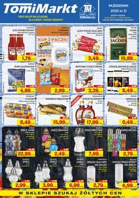 Gazetka promocyjna TomiMarkt - Promocje w TomiMarkt - ważna do 29-10-2020