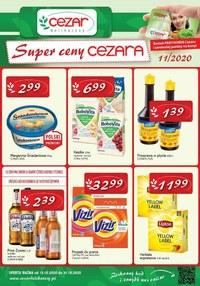 Gazetka promocyjna Delikatesy CEZAR - Super ceny w Delikatesach Cezar! - ważna do 31-10-2020