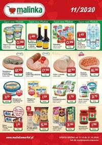 Gazetka promocyjna MALINKA Market - Oferta handlowa Malinka Market - ważna do 31-10-2020