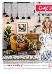 Gazetka promocyjna Agata  - Dom gotowy na jesień z Agatą! - ważna do 31-10-2020