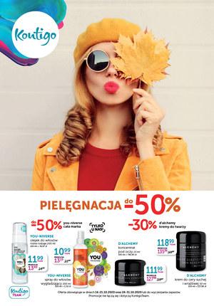 Gazetka promocyjna Kontigo - Pielęgnacja -50% w Kontigo