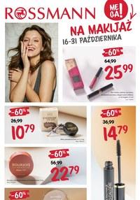 Gazetka promocyjna Rossmann - Mega promki na makijaż w Rossmann!