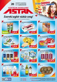 Gazetka promocyjna Astra - Szeroki wybór, niskie ceny w sklepach Astra! - ważna do 31-10-2020