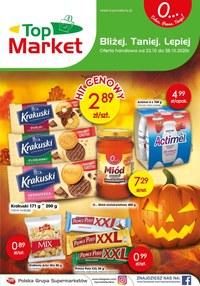 Gazetka promocyjna Top Market - Nowe promocje w Top Market - ważna do 28-10-2020