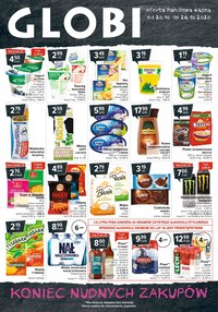 Gazetka promocyjna Globi - Oferta handlowa Globi - ważna do 26-10-2020