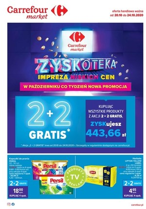 Gazetka promocyjna Carrefour Market - Carrefour Market oferta promocyjna