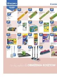 Gazetka promocyjna E.Leclerc - 22 rocznica otwarcia sklepu E.leclerc Łódź!