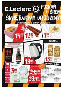 Gazetka promocyjna E.Leclerc - Świętuj urodziny E.leclerc Poznań! - ważna do 04-11-2020