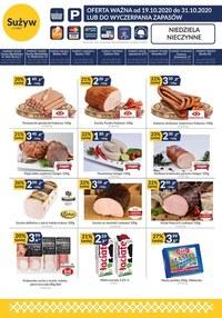 Gazetka promocyjna Sużyw - Sużyw oferta handlowa - ważna do 31-10-2020