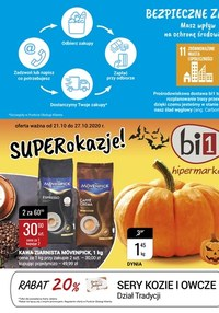 Gazetka promocyjna bi1 - Super okazje w sklepach Bi1! - ważna do 27-10-2020