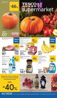 Promocje jesienne w Tesco Supermarket!