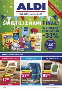 Gazetka promocyjna Aldi - Promocje do -33% w Aldi! - ważna do 31-10-2020