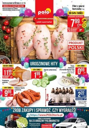 Gazetka promocyjna POLOmarket - Urodzinowe hity w Polomarket!