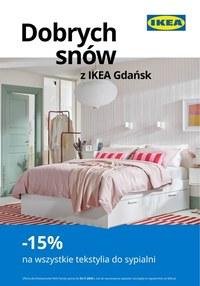 Gazetka promocyjna IKEA - Dobrych snów życzy IKEA Gdańsk - ważna do 03-11-2020