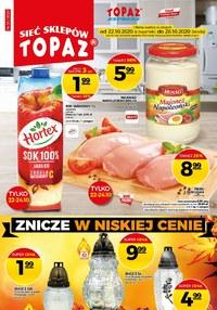 Gazetka promocyjna Topaz - Wielkie okazje w Topaz