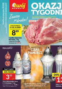 Gazetka promocyjna Twój Market - Okazje tygodnia w sklepach Twój Market - ważna do 27-10-2020
