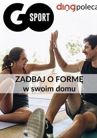 Gazetka promocyjna GO Sport - Zadbaj o formę - Go Sport - ważna do 31-10-2020
