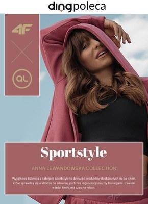 Sportowy styl z Anną Lewandowską w 4F