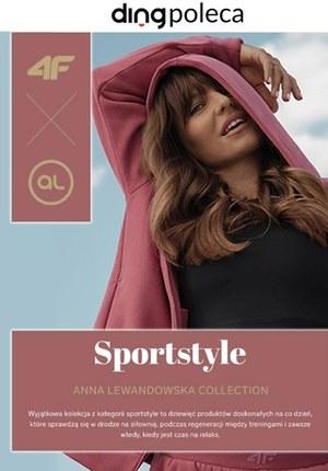 Gazetka promocyjna 4F - Sportowy styl z Anną Lewandowską w 4F