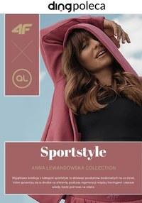 Gazetka promocyjna 4F - Sportowy styl z Anną Lewandowską w 4F - ważna do 03-11-2020