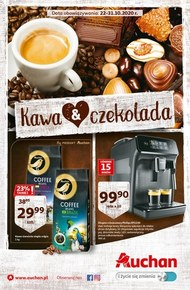 Kawa&czekolada w Auchan Hipermarket!