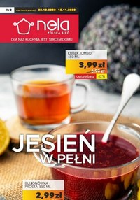Gazetka promocyjna Nela - Najlepsze towary do kuchni w Nela - ważna do 18-11-2020