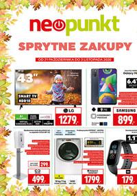 Gazetka promocyjna NEOPUNKT - Sprytne zakupy w Neopunkt! - ważna do 03-11-2020