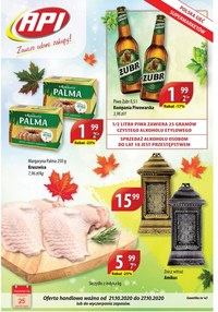 Gazetka promocyjna Api Market - Super ceny w sklepach Api Market! - ważna do 27-10-2020