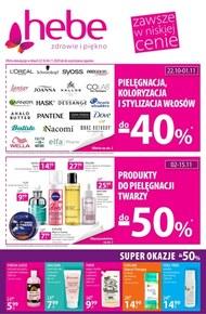 Produkty do włosów -40% w Hebe!