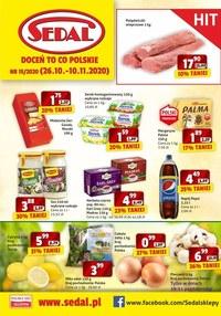 Gazetka promocyjna Sedal - Doceń polskie produkty z Sedal! - ważna do 10-11-2020