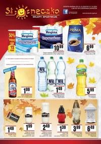 Gazetka promocyjna Słoneczko - Promocje w sklepach Słoneczko