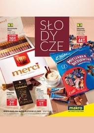Promocje na słodycze w Makro