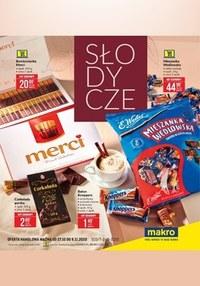 Gazetka promocyjna Makro Cash&Carry - Promocje na słodycze w Makro - ważna do 09-11-2020
