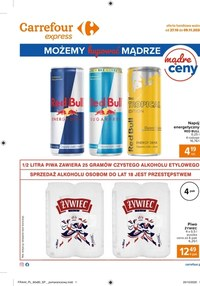 Gazetka promocyjna Carrefour Express - Zniżki w Carrefour Express - ważna do 09-11-2020