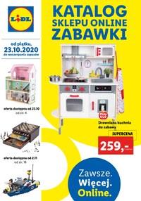 Gazetka promocyjna Lidl - Katalog zabawki - sklep online - ważna do 24-12-2020