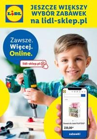Gazetka promocyjna Lidl - Katalog zabawki - sklep online