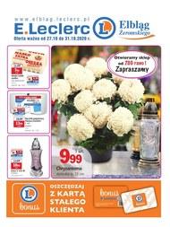 E.Leclerc Elbląg - gazetka promocyjna