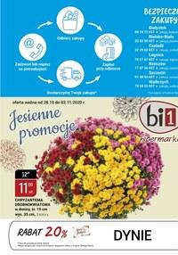 Gazetka promocyjna bi1 - Bezpieczne zakupy w Bi1  - ważna do 03-11-2020
