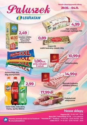 Gazetka promocyjna Paluszek - Paluszek - oferta handlowa