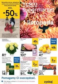 Gazetka promocyjna Tesco Supermarket - Możesz oszczędzać z Tesco Supermarket! - ważna do 04-11-2020