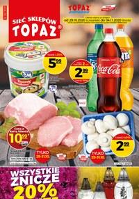 Gazetka promocyjna Topaz - Oferta spożywcza sieci Topaz - ważna do 04-11-2020