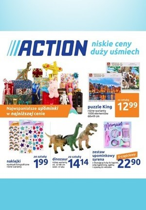 Gazetka promocyjna Action - Najwspanialsze upominki w Action