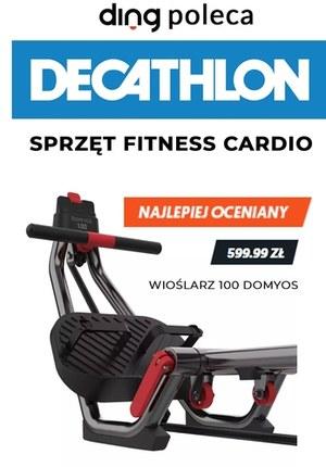 Gazetka promocyjna Decathlon - Sprzęt, fitness, cardio w Decathlonie!