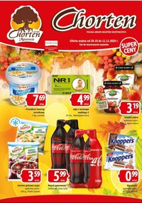Gazetka promocyjna Chorten - Oferta handlowa Chorten - ważna do 11-11-2020