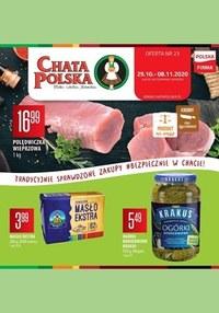 Gazetka promocyjna Chata Polska - Tradycyjne i sprawdzone zakupy - Chata