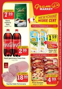 Gazetka promocyjna Gram Market - Oferta handlowa Gram Market - ważna do 03-11-2020