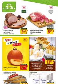 Gazetka promocyjna Stokrotka Supermarket - Super promocje w Stokrotce Supermarket! - ważna do 04-11-2020